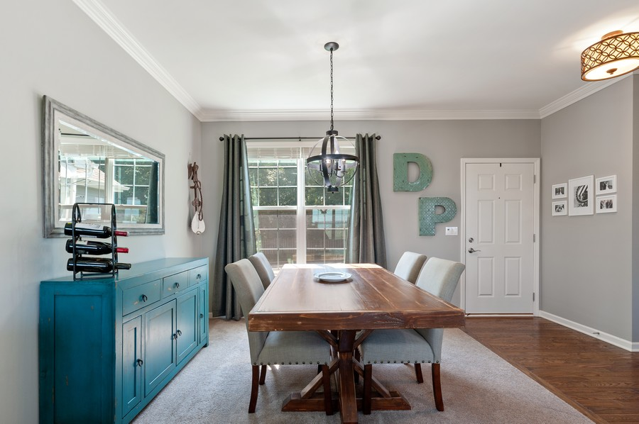 Real Estate Photography - 48 S Cornerstone, Volo, IL, 60020 - Dining Room
