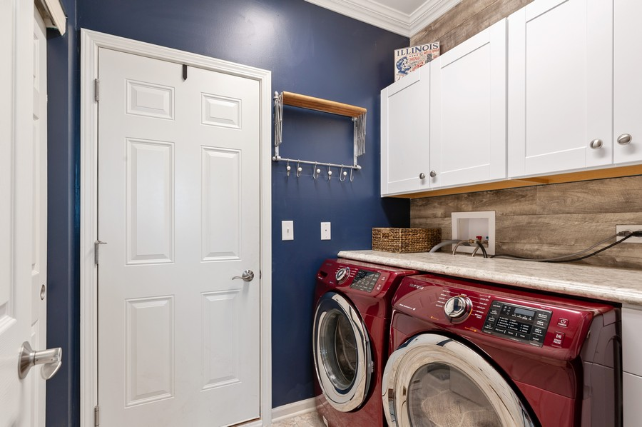 Real Estate Photography - 48 S Cornerstone, Volo, IL, 60020 - Laundry Room