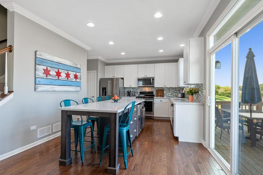 Real Estate Photography - 48 S Cornerstone, Volo, IL, 60020 - Kitchen