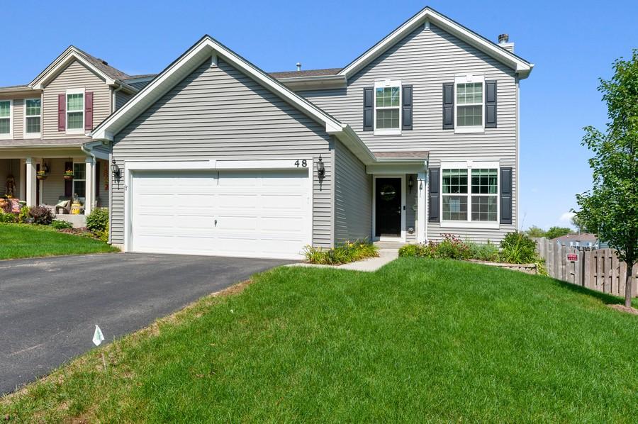 Real Estate Photography - 48 S Cornerstone, Volo, IL, 60020 - Front View
