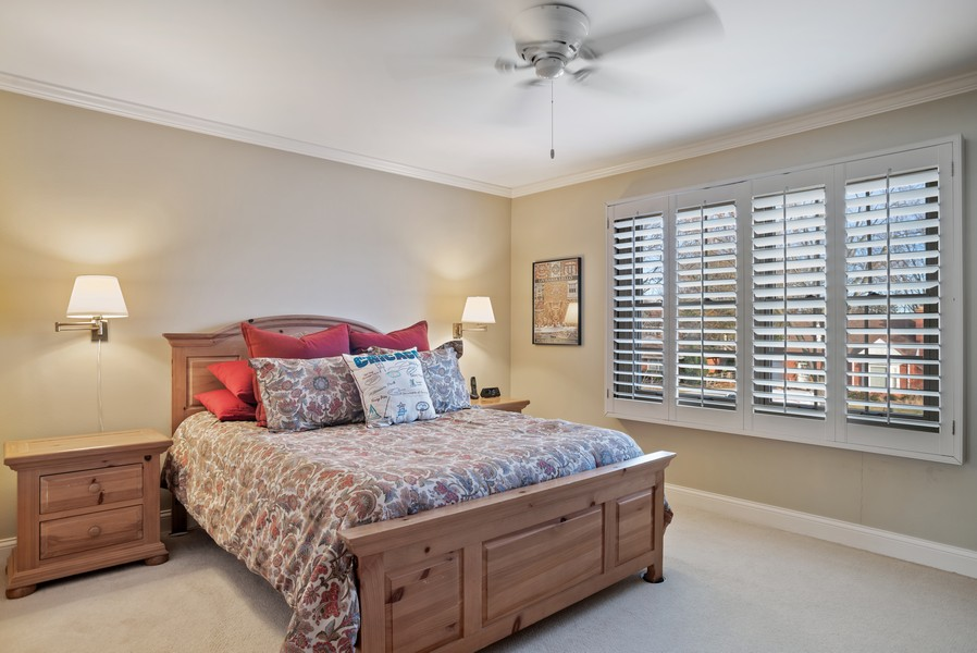 Real Estate Photography - 1204 Raleigh Road, Glenview, IL, 60025 - 3rd Bedroom