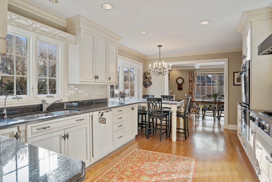 Real Estate Photography - 1204 Raleigh Road, Glenview, IL, 60025 - Kitchen