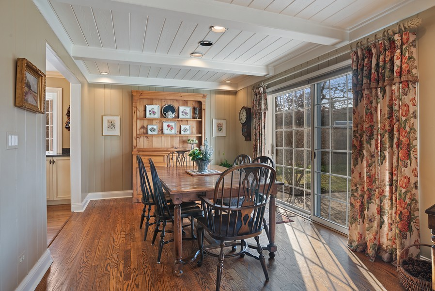 Real Estate Photography - 1204 Raleigh Road, Glenview, IL, 60025 - Dining Room