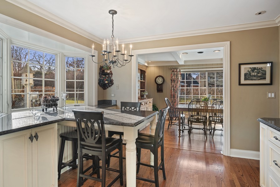 Real Estate Photography - 1204 Raleigh Road, Glenview, IL, 60025 - Breakfast Area