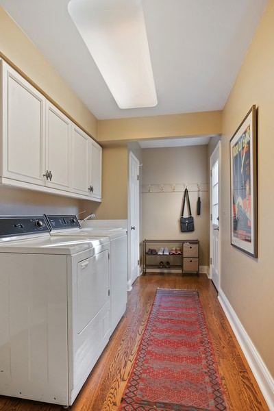 Real Estate Photography - 1204 Raleigh Road, Glenview, IL, 60025 - Laundry Room/ Mud Room - main level