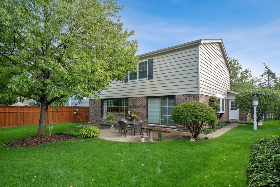 Real Estate Photography - 1204 Raleigh Road, Glenview, IL, 60025 - Back yard