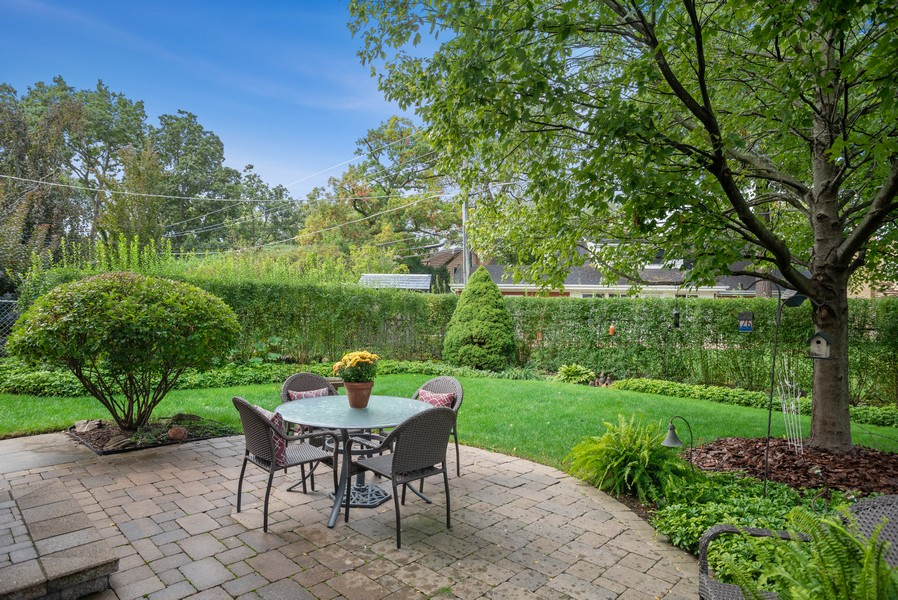 Real Estate Photography - 1204 Raleigh Road, Glenview, IL, 60025 - Patio