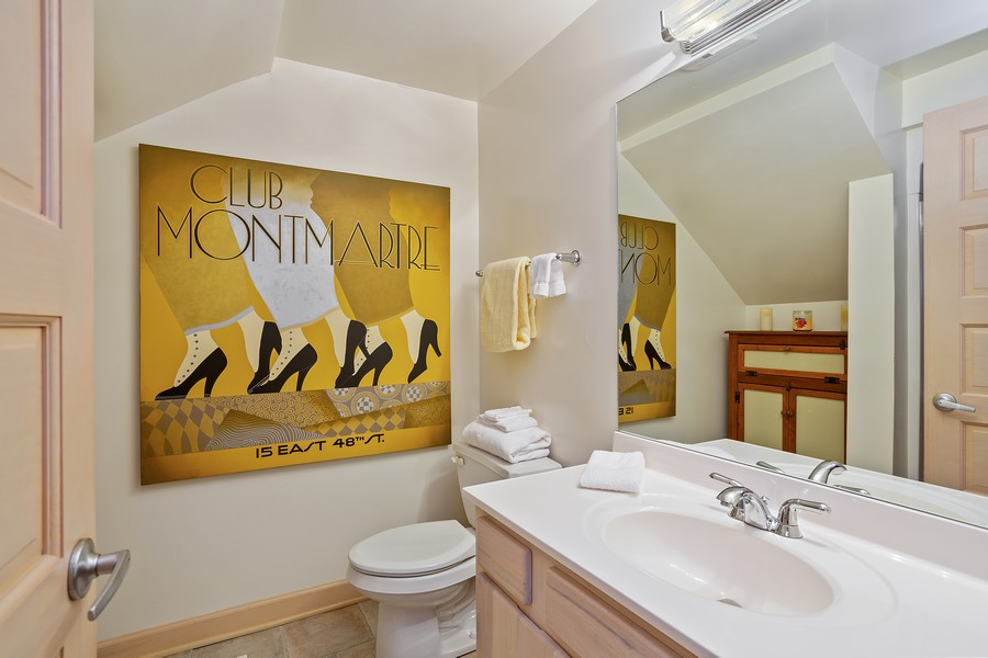 Real Estate Photography - 115 Power Ln, Michigan City, IN, 46360 - 3rd Bathroom