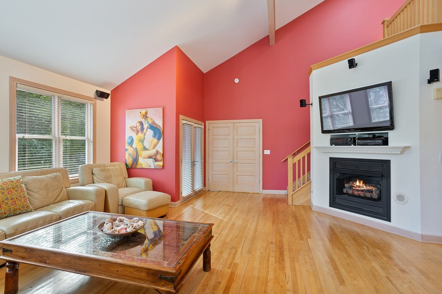 Real Estate Photography - 115 Power Ln, Michigan City, IN, 46360 - Living Room