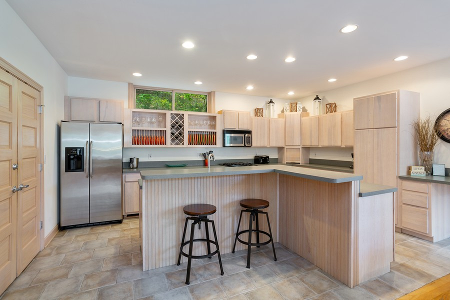 Real Estate Photography - 115 Power Ln, Michigan City, IN, 46360 - Kitchen