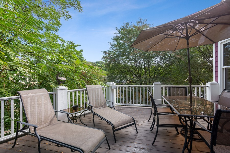 Real Estate Photography - 115 Power Ln, Michigan City, IN, 46360 - Deck
