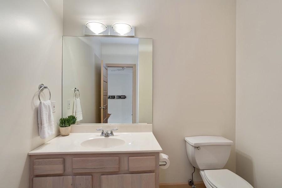 Real Estate Photography - 115 Power Ln, Michigan City, IN, 46360 - Half Bath