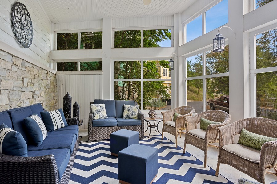 Real Estate Photography - 115 Power Ln, Michigan City, IN, 46360 - Sun Room