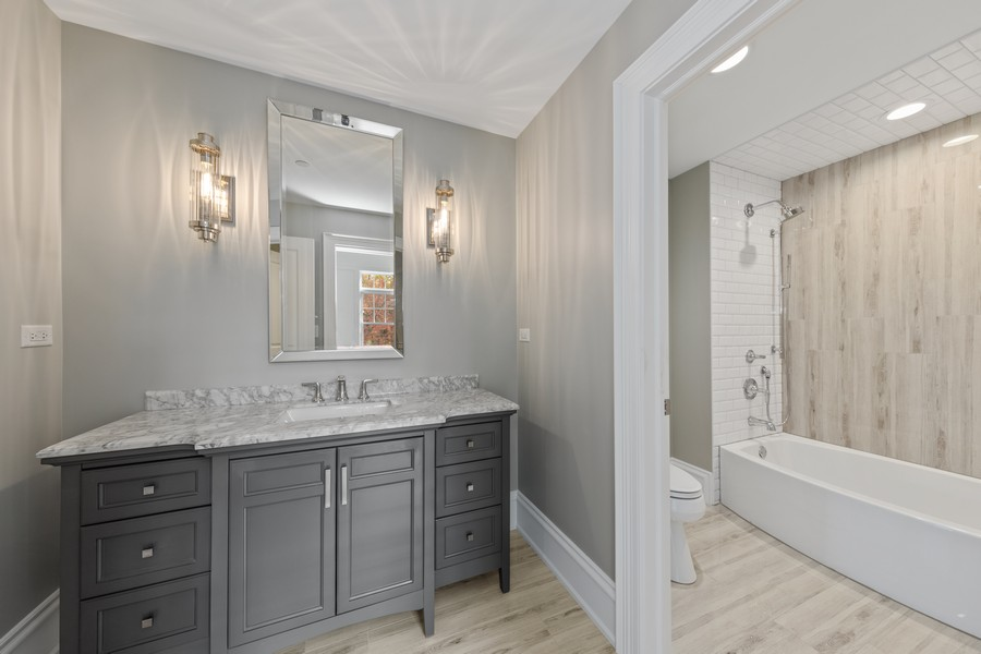 Real Estate Photography - 5341 Lawn Ave, Western Springs, IL, 60558 - 3rd Bathroom