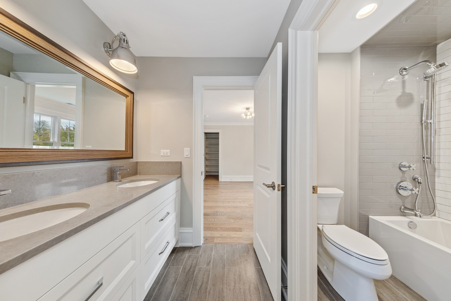 Real Estate Photography - 5341 Lawn Ave, Western Springs, IL, 60558 - 4th Bathroom