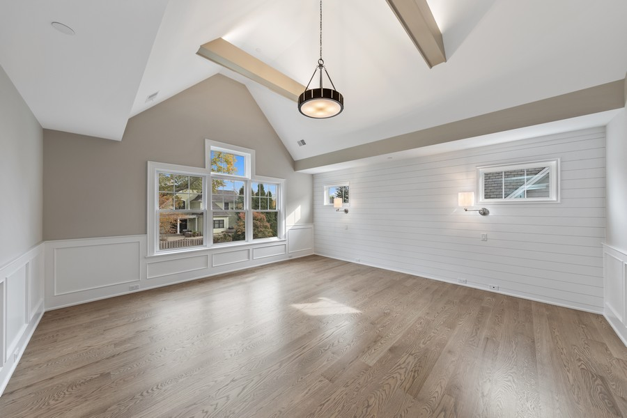 Real Estate Photography - 5341 Lawn Ave, Western Springs, IL, 60558 - Master Bedroom