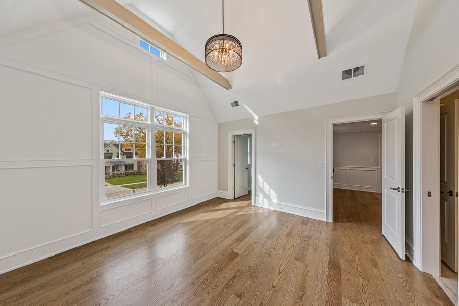 Real Estate Photography - 5341 Lawn Ave, Western Springs, IL, 60558 - 3rd Bedroom