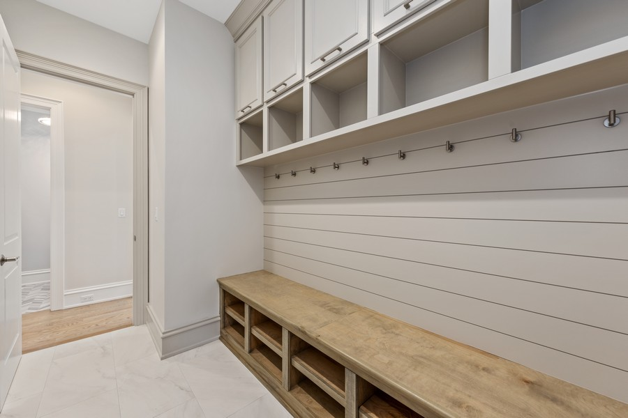 Real Estate Photography - 5341 Lawn Ave, Western Springs, IL, 60558 - Mudroom