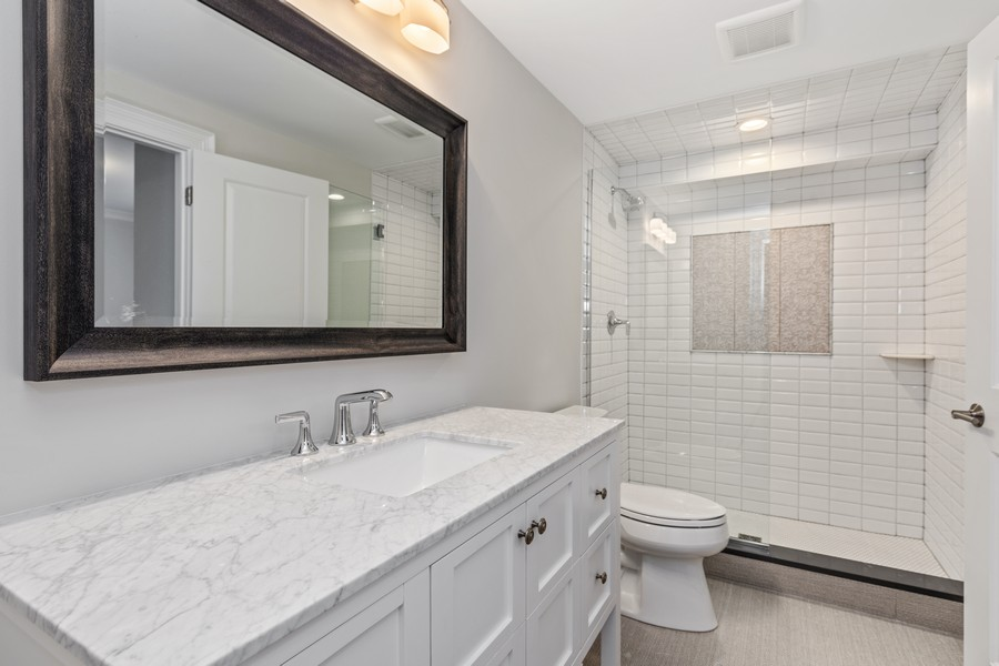 Real Estate Photography - 5341 Lawn Ave, Western Springs, IL, 60558 - Bathroom