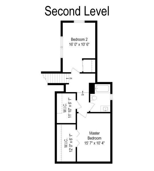 Real Estate Photography - 0S480 S Poplar Ave, Elmhurst, IL, 60126 - Floor Plan