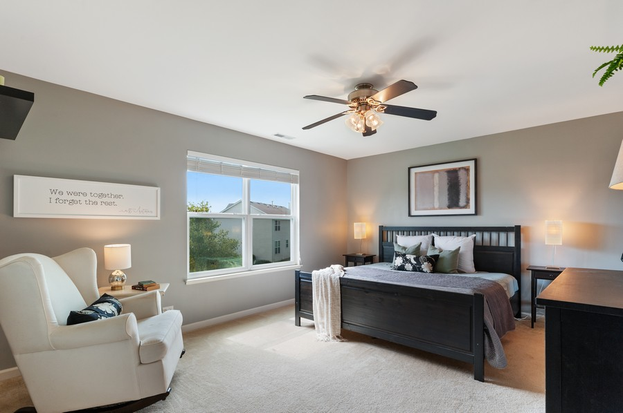Real Estate Photography - 290 Bedford, Volo, IL, 60073 - Master Bedroom