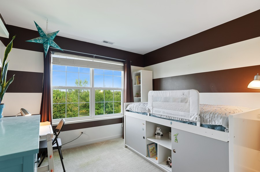 Real Estate Photography - 290 Bedford, Volo, IL, 60073 - 2nd Bedroom