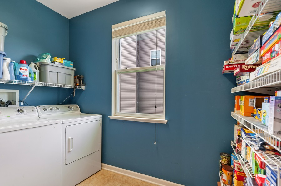 Real Estate Photography - 290 Bedford, Volo, IL, 60073 - Laundry Room