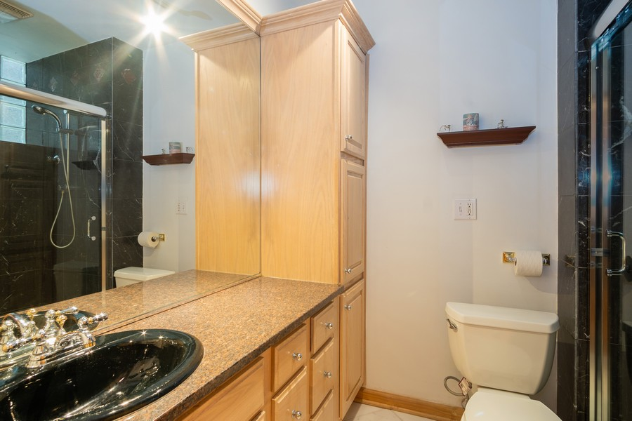 Real Estate Photography - 847 N Hermitage, Unit B, Chicago, IL, 60622 - Bathroom