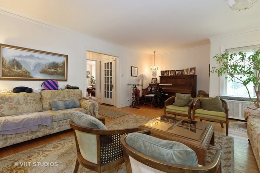 Real Estate Photography - 3811 N Kildare, Chicago, IL, 60641 - Living Room