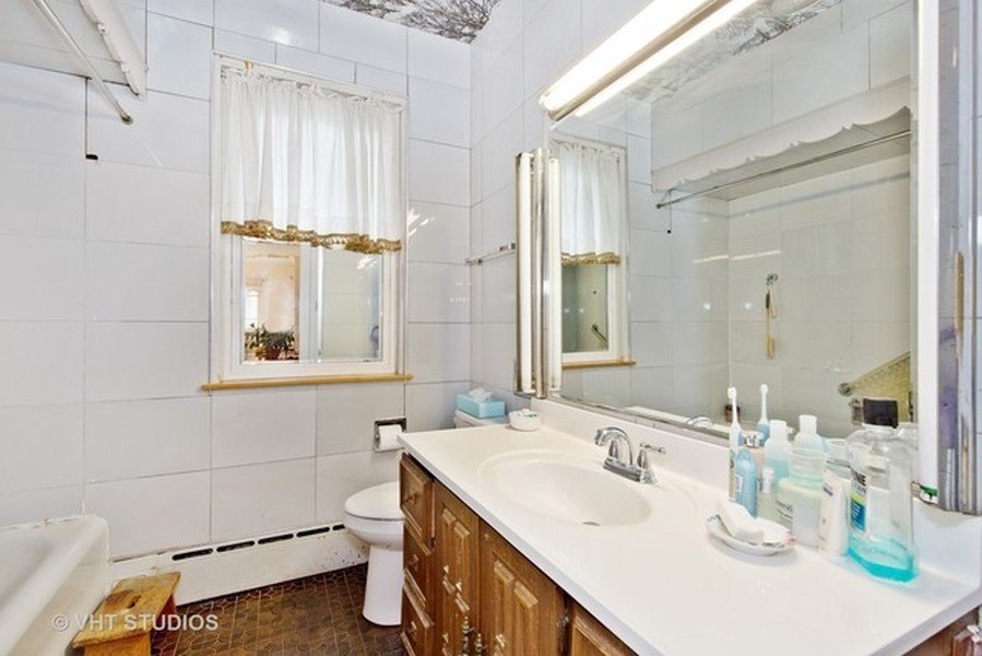 Real Estate Photography - 3811 N Kildare, Chicago, IL, 60641 - Bathroom