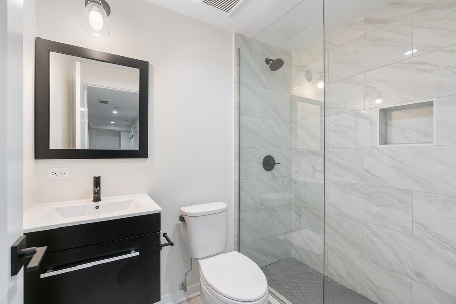 Real Estate Photography - 2335 W Altgeld, Chicago, IL, 60647 - 3rd Bathroom