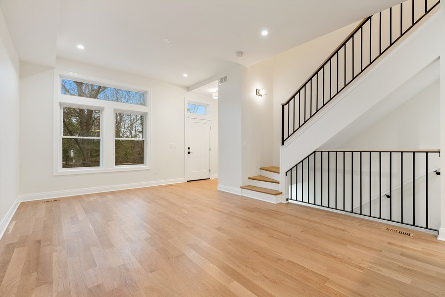 Real Estate Photography - 2335 W Altgeld, Chicago, IL, 60647 - Living Room