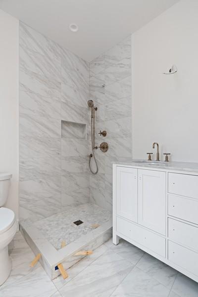 Real Estate Photography - 2335 W Altgeld, Chicago, IL, 60647 - Master Bathroom