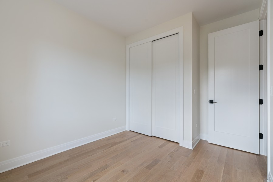 Real Estate Photography - 2335 W Altgeld, Chicago, IL, 60647 - 2nd Bedroom
