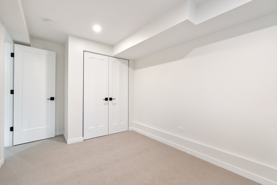 Real Estate Photography - 2335 W Altgeld, Chicago, IL, 60647 - 3rd Bedroom