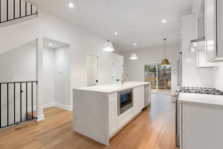 Real Estate Photography - 2335 W Altgeld, Chicago, IL, 60647 - Kitchen