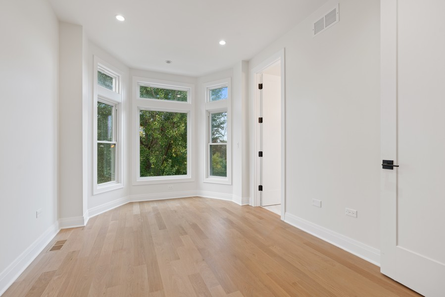 Real Estate Photography - 2335 W Altgeld, Chicago, IL, 60647 - Master Bedroom