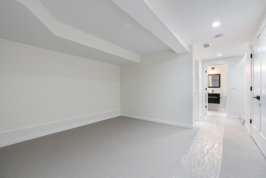 Real Estate Photography - 2335 W Altgeld, Chicago, IL, 60647 - Family Room