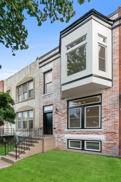 Real Estate Photography - 2335 W Altgeld, Chicago, IL, 60647 - Front View