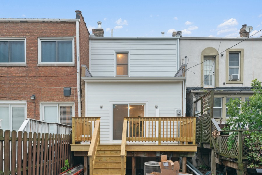 Real Estate Photography - 2335 W Altgeld, Chicago, IL, 60647 - Rear View