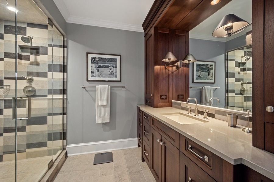 Real Estate Photography - 84 Dundee Ln, Barrington Hills, IL, 60010 - Fourth Bedroom En Suite Bath