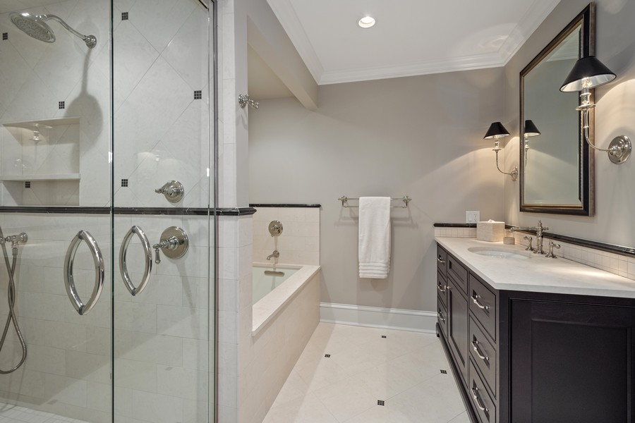 Real Estate Photography - 84 Dundee Ln, Barrington Hills, IL, 60010 - Fifth Bedroom En Suite Bath