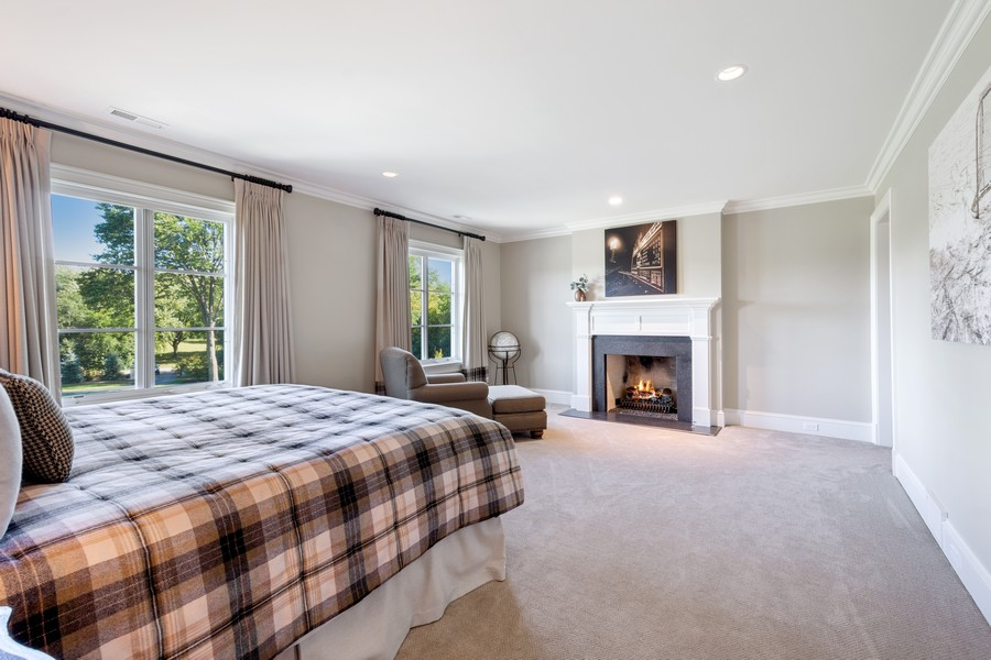 Real Estate Photography - 84 Dundee Ln, Barrington Hills, IL, 60010 - Second Bedroom