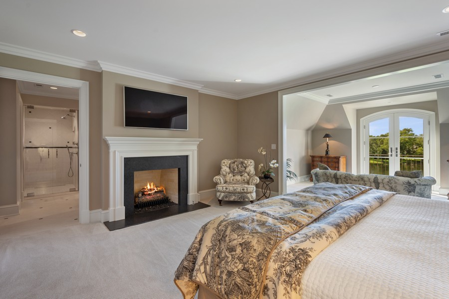 Real Estate Photography - 84 Dundee Ln, Barrington Hills, IL, 60010 - Fifth Bedroom & Sitting Room