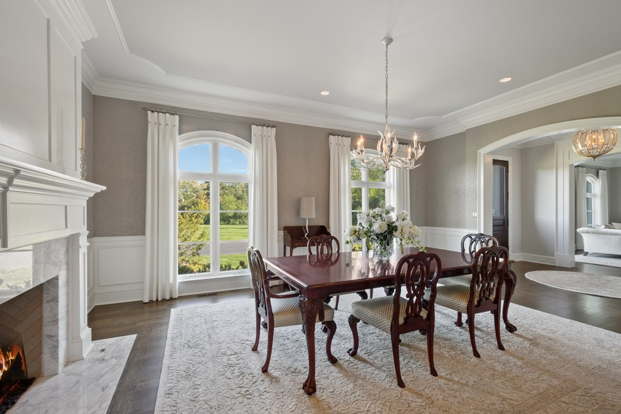 Real Estate Photography - 84 Dundee Ln, Barrington Hills, IL, 60010 - Dining Room