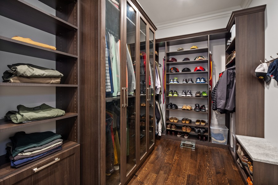 Real Estate Photography - 84 Dundee Ln, Barrington Hills, IL, 60010 - His Master Walk-In Closet
