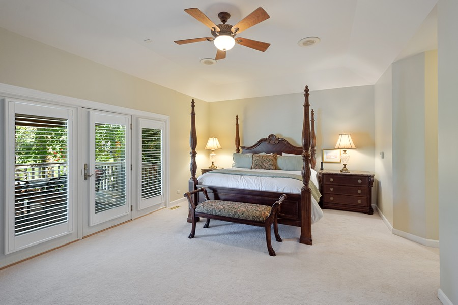 Real Estate Photography - 9 Lakeside Ln, North Barrington, IL, 60010 - Master Bedroom