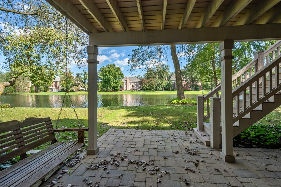 Real Estate Photography - 9 Lakeside Ln, North Barrington, IL, 60010 - Back Yard