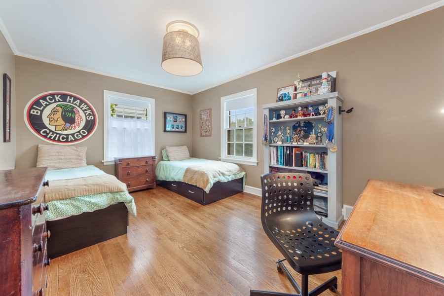 Real Estate Photography - 631 S Belmont, Arlington Heights, IL, 60005 - 2nd Bedroom