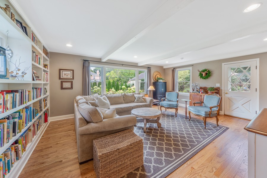 Real Estate Photography - 631 S Belmont, Arlington Heights, IL, 60005 - Family Room